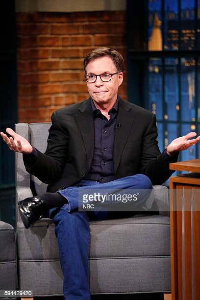 Sportscaster Bob Costas during an interview on August 23 2016