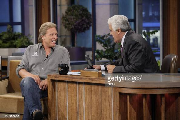 Crab boat captain Sig Hansen during an interview with host Jay Leno on July 8 2011 Photo by Paul Drinkwater/NBC/NBCU Photo Bank