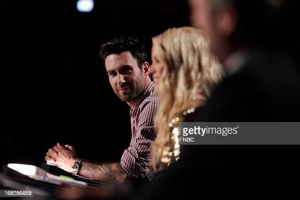 THE VOICE Episode 413B 'Live Show' Pictured Adam Levine Shakira