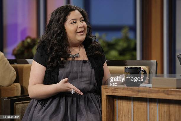Actress Raini Rodriguez during an interview on November 30 2011 Photo by Paul Drinkwater/NBC/NBCU Photo Bank