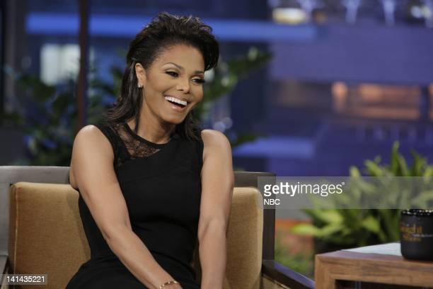 Singer/actress Janet Jackson during an interview on January 9 2012 Photo by Paul Drinkwater/NBC/NBCU Photo Bank
