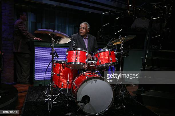 Clyde Stubblefield of Copyright Criminals All Star Band performs on March 29 2011