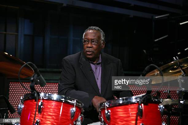 Musical Guest Clyde Stubblefield of Copyright Criminals All Star Band performs on March 29 2011