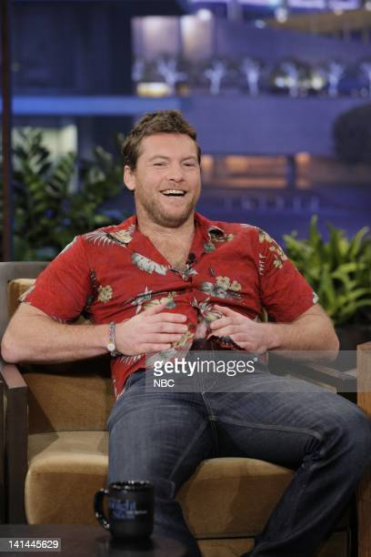 Actor Sam Worthington during an interview on January 17 2012 Photo by Paul Drinkwater/NBC/NBCU Photo Bank