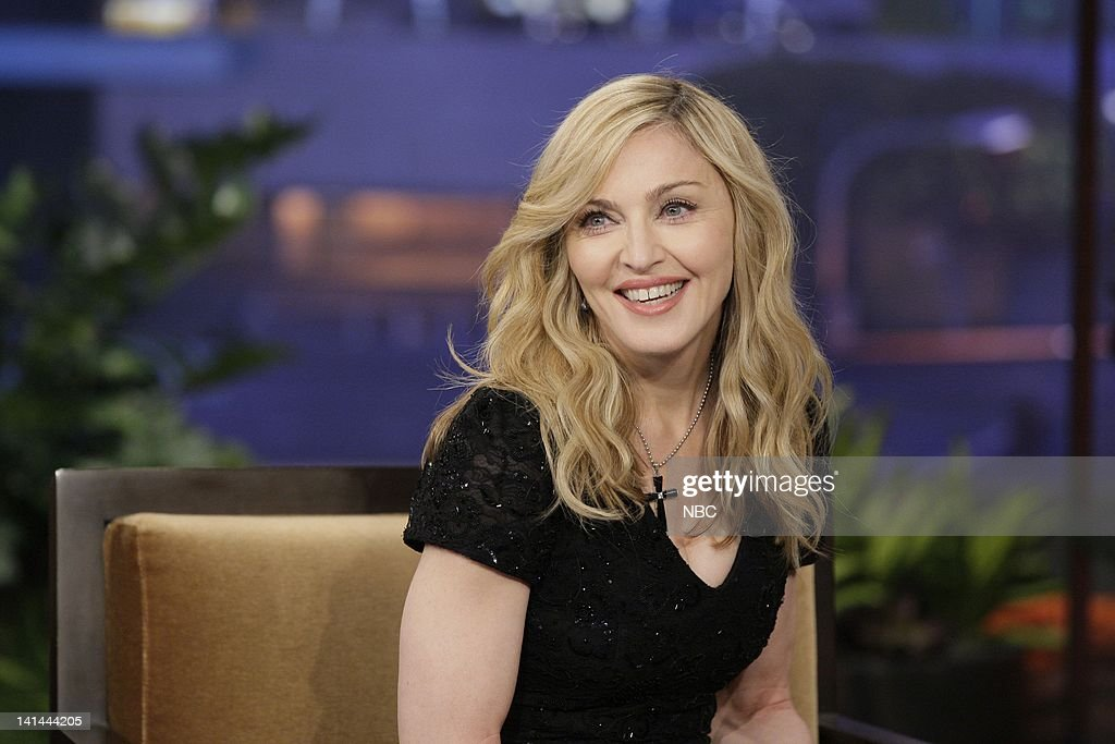 Singer <a gi-track='captionPersonalityLinkClicked' href=/galleries/search?phrase=Madonna+-+Cantante&family=editorial&specificpeople=156408 ng-click='$event.stopPropagation()'>Madonna</a> during an interview on January 30, 2012 -- Photo by: Paul Drinkwater/NBC/NBCU Photo Bank