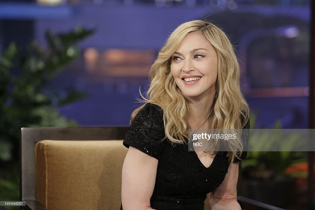 Singer <a gi-track='captionPersonalityLinkClicked' href=/galleries/search?phrase=Madonna+-+Cantora&family=editorial&specificpeople=156408 ng-click='$event.stopPropagation()'>Madonna</a> during an interview on January 30, 2012 -- Photo by: Paul Drinkwater/NBC/NBCU Photo Bank