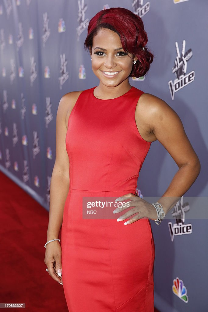 THE VOICE -- Episode 419B 'Live Finale' -- Pictured: Christina Millian --