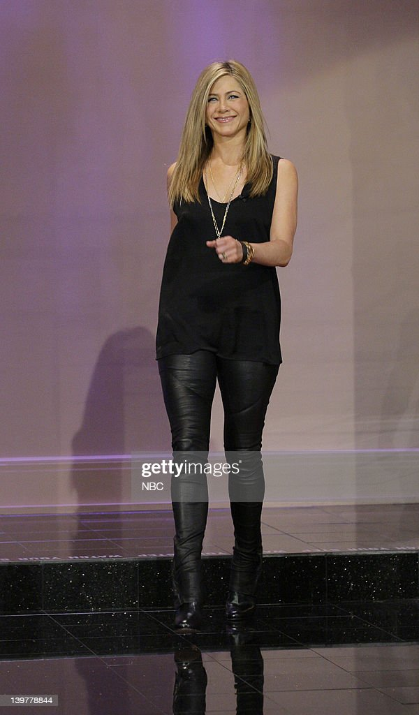 Actress Jennifer Aniston arrives on February 24, 2012 --