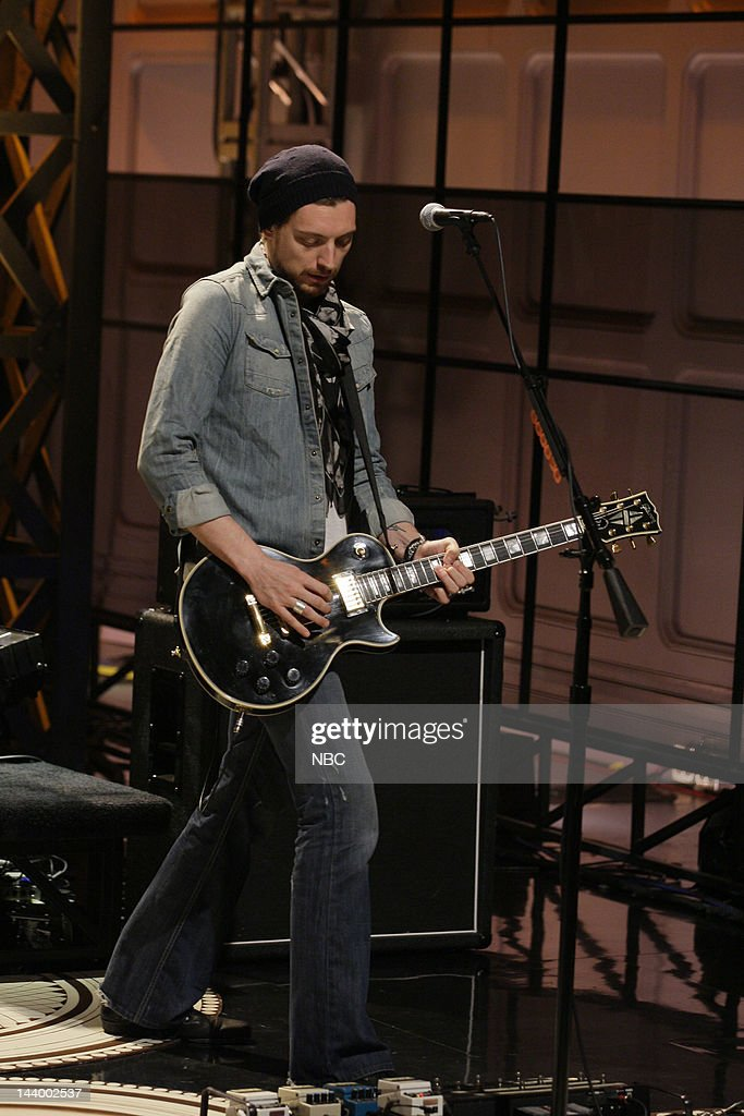 """NBC's """"Tonight Show with Jay Leno"""" With Guests Michelle Pfeiffer, Bear Grylls, Snow Patrol"""