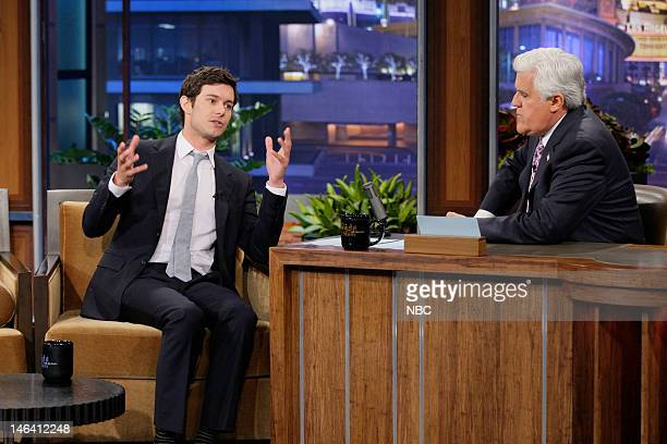 Actor Adam Brody during an interview with host Jay Leno on June 15 2012