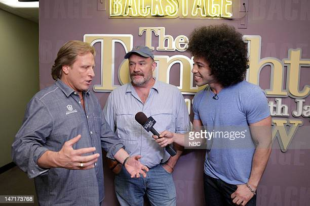 LENO Episode 4277 Pictured Deadliest Catch's Capt Sig Hansen Capt Keith Colburn during an interview with Bryan Branly on June 26 2012