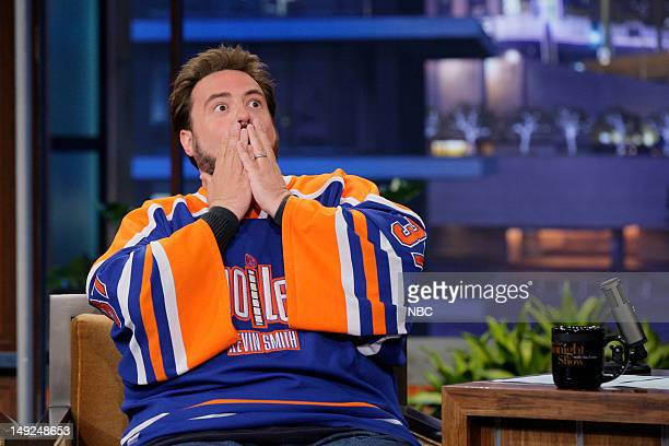 Actor Kevin Smith during an interview on July 25 2012