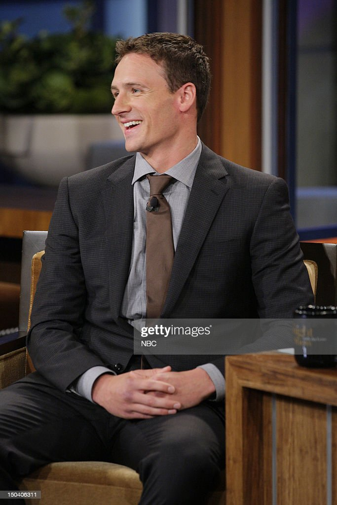 Olympic swimmer Ryan Lochte during an interview on August 16, 2012 --