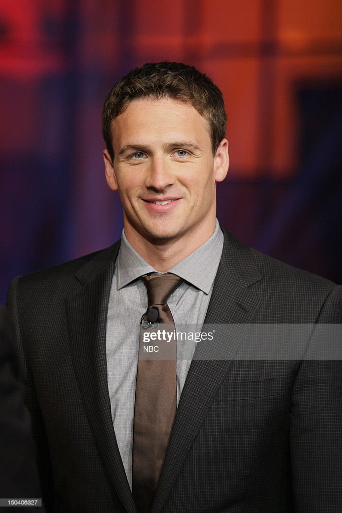 Olympic swimmer <a gi-track='captionPersonalityLinkClicked' href=/galleries/search?phrase=Ryan+Lochte&family=editorial&specificpeople=182557 ng-click='$event.stopPropagation()'>Ryan Lochte</a> on August 16, 2012 --