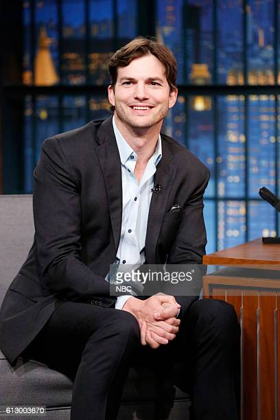 Actor Ashton Kutcher during an interview on October 6 2016