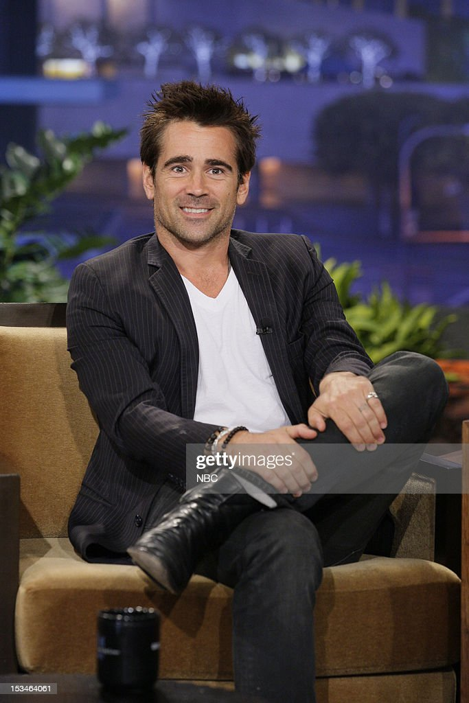 Actor <a gi-track='captionPersonalityLinkClicked' href=/galleries/search?phrase=Colin+Farrell&family=editorial&specificpeople=202154 ng-click='$event.stopPropagation()'>Colin Farrell</a> during an interview on October 5, 2012 --