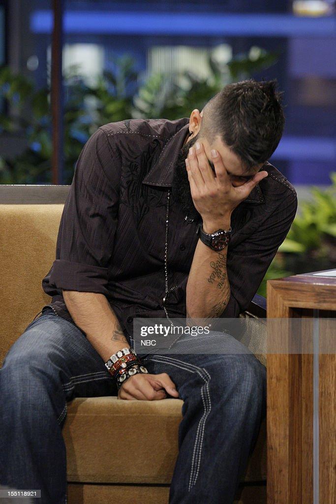 World Series winner Sergio Romo during an interview on November 1, 2012 --