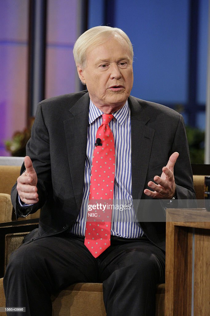 <a gi-track='captionPersonalityLinkClicked' href=/galleries/search?phrase=Chris+Matthews+-+Television+Personality&family=editorial&specificpeople=651505 ng-click='$event.stopPropagation()'>Chris Matthews</a> during an interview on November 16, 2012 --
