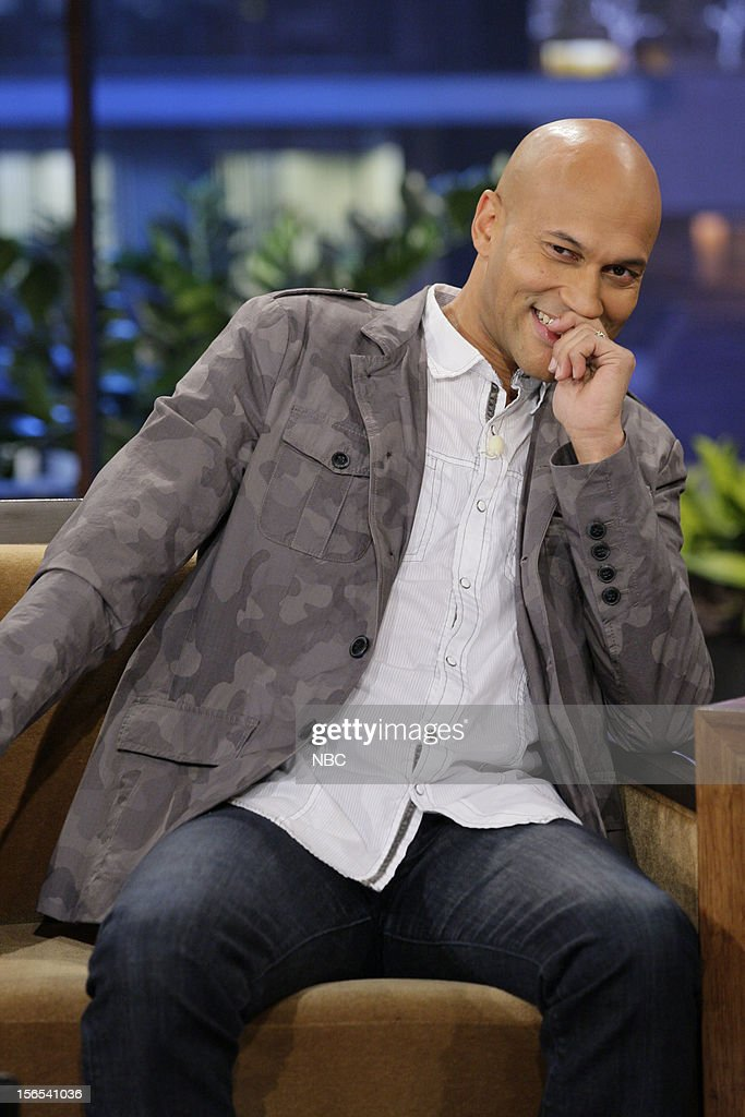 <a gi-track='captionPersonalityLinkClicked' href=/galleries/search?phrase=Keegan-Michael+Key&family=editorial&specificpeople=630311 ng-click='$event.stopPropagation()'>Keegan-Michael Key</a> during an interview on November 16, 2012 --