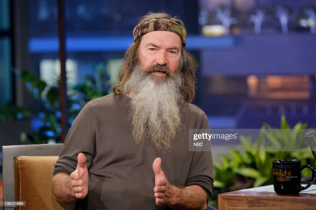Phil Robertson during an interview on November 19, 2012 --