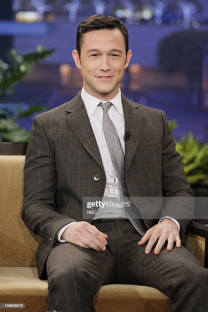 Actor Joseph Gordon-Levitt during an interview on November 20, 2012 --