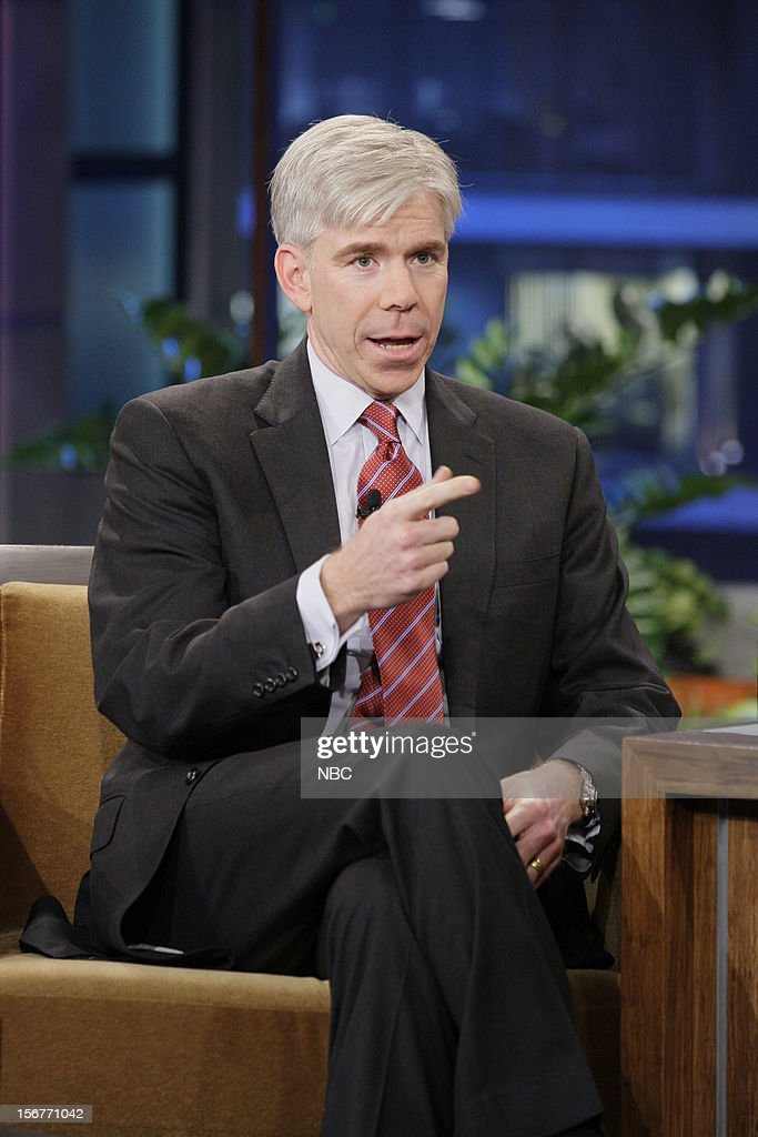 David Gregory during an interview on November 20, 2012 --