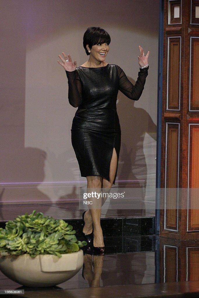 Kris Jenner arrives on November 20, 2012 --