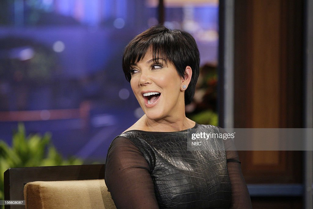 Kris Jenner during an interview on November 20, 2012 --