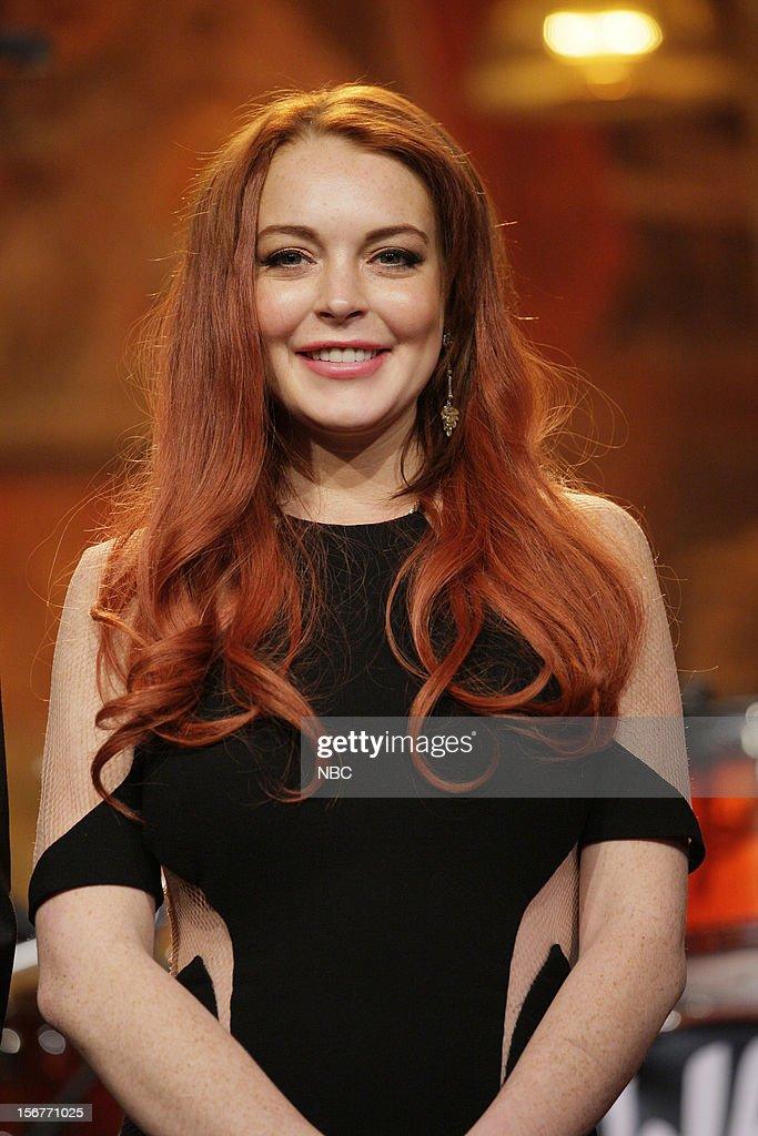 Lindsay Lohan on November 20, 2012 --