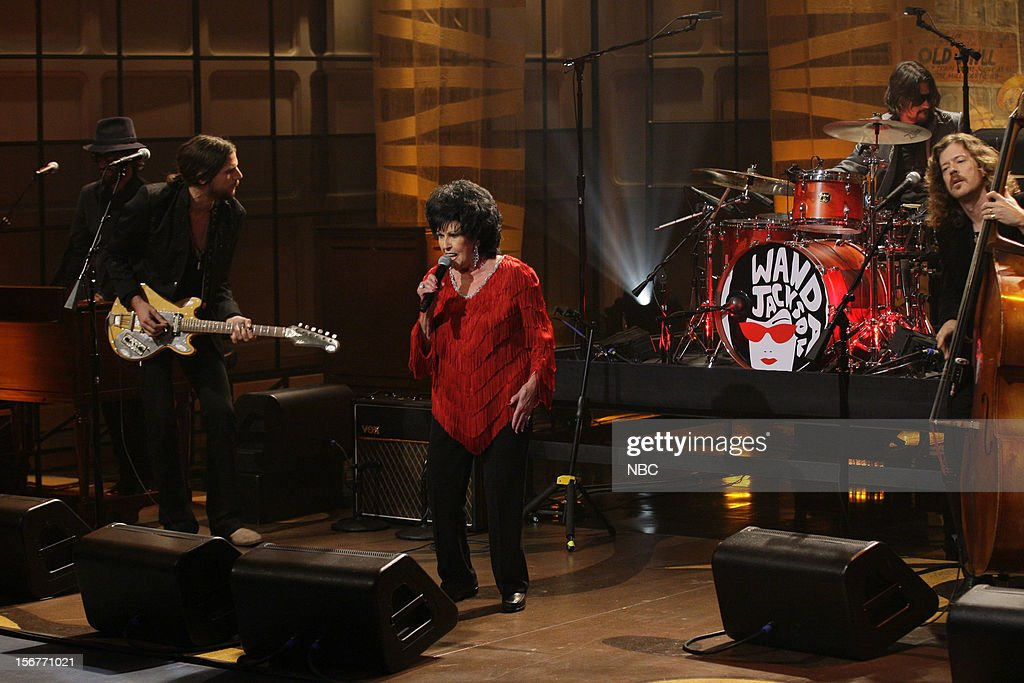 Musical guest Wanda Jackson peforms on November 20, 2012 --