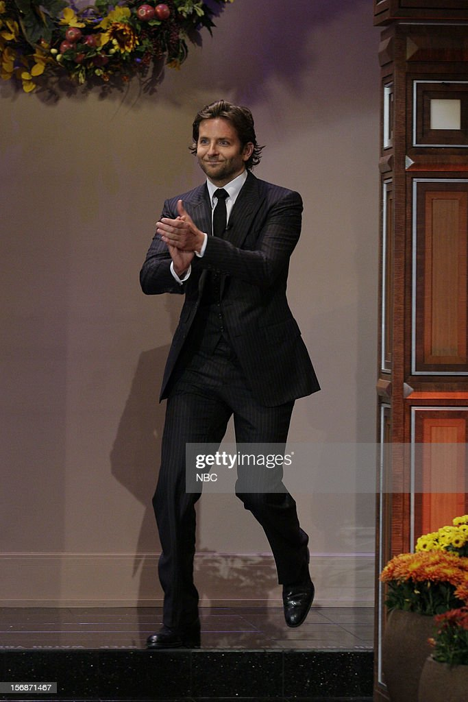 Actor Bradley Cooper arrives on November 22, 2012 --