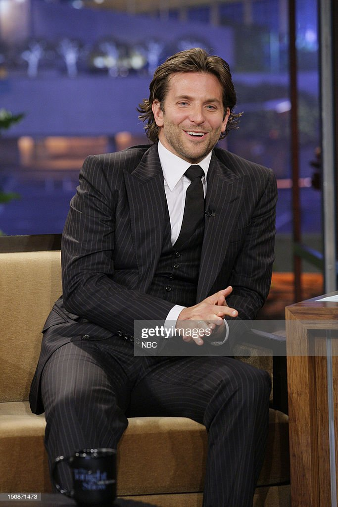 Actor <a gi-track='captionPersonalityLinkClicked' href=/galleries/search?phrase=Bradley+Cooper&family=editorial&specificpeople=680224 ng-click='$event.stopPropagation()'>Bradley Cooper</a> during an interview on November 22, 2012 --