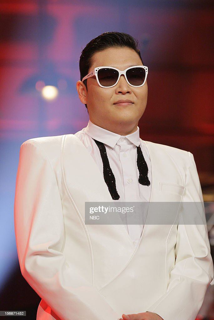 Musical guest Psy on November 22, 2012 --