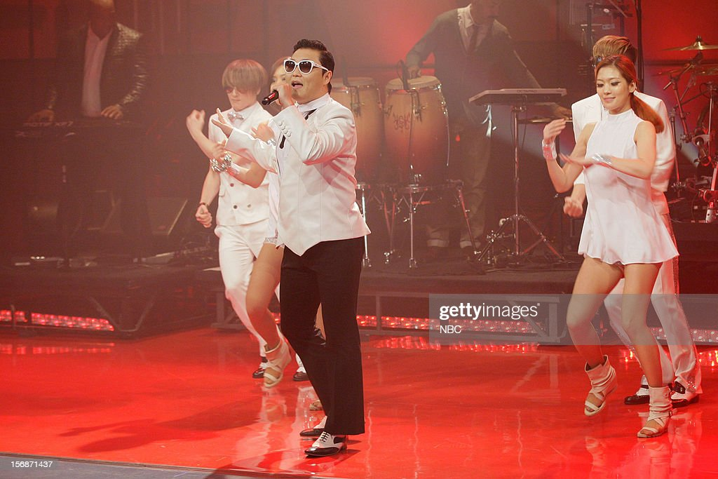 Musical guest Psy performs on November 22, 2012 --