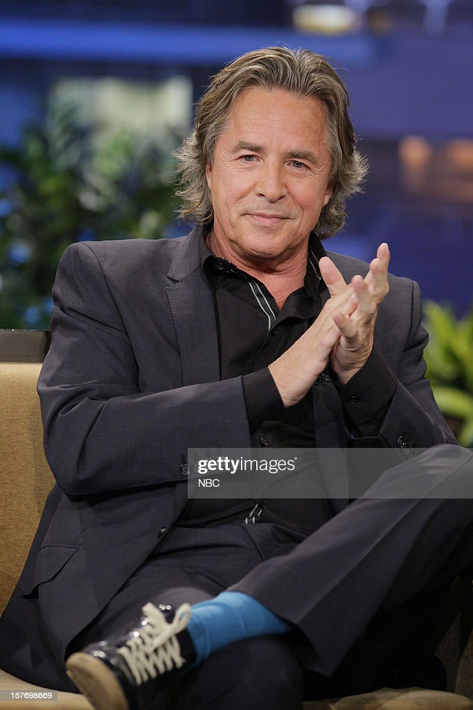 Actor Don Johnson during an interview on December 5, 2012 --