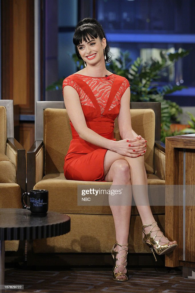 Actress Krysten Ritter during an interview on December 6, 2012 --