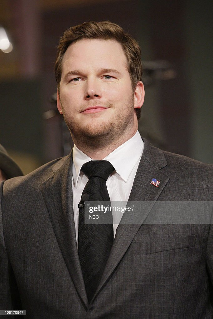 Actor <a gi-track='captionPersonalityLinkClicked' href=/galleries/search?phrase=Chris+Pratt+-+Schauspieler&family=editorial&specificpeople=239084 ng-click='$event.stopPropagation()'>Chris Pratt</a> during on December 10, 2012 --