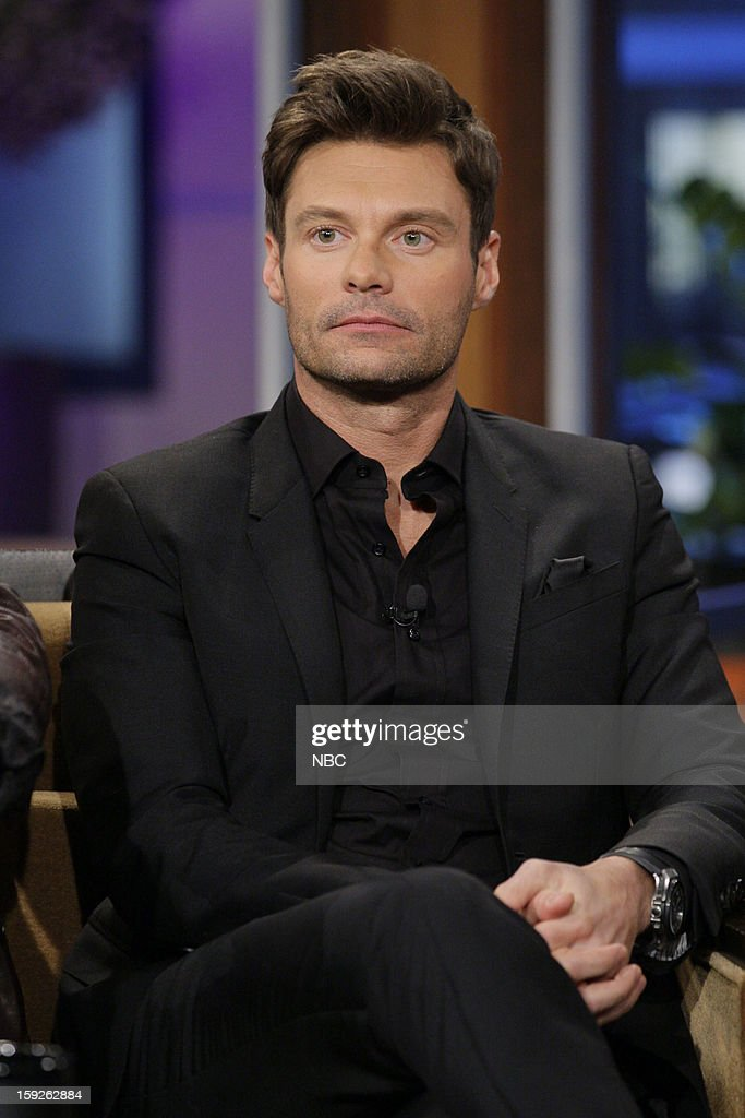 Ryan Seacrest of American Idol during an interview on January 10, 2013 --