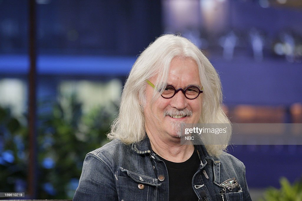 Actor/comedian <a gi-track='captionPersonalityLinkClicked' href=/galleries/search?phrase=Billy+Connolly&family=editorial&specificpeople=208248 ng-click='$event.stopPropagation()'>Billy Connolly</a> during an interview on January 14, 2013 --