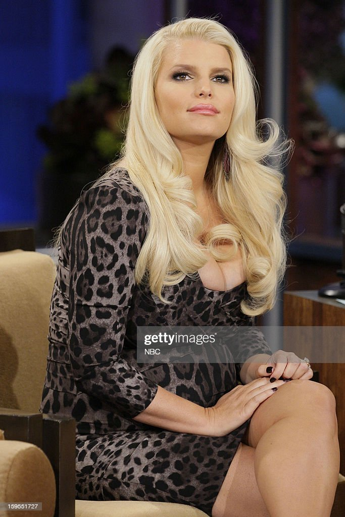 Actress Jessica Simpson during an interview on January 15, 2013 --