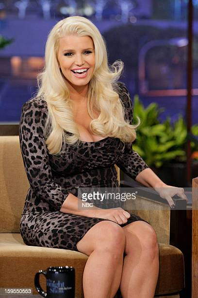 Jessica Simpson during an interview on January 15 2013