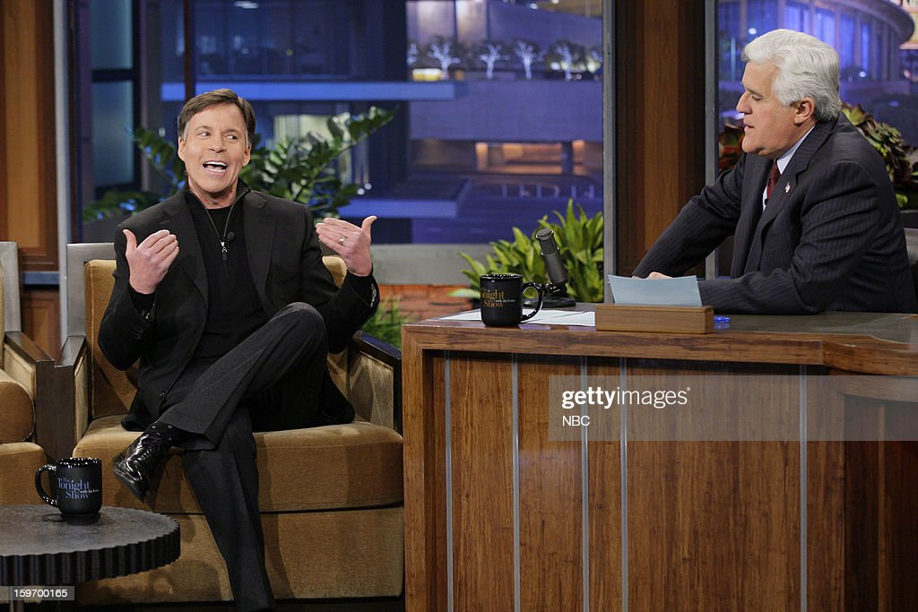 Bob Costas during an interview with host Jay Leno on January 18, 2013 --