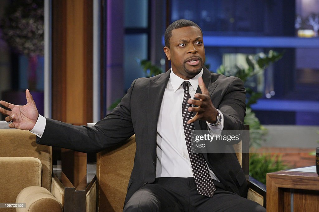 <a gi-track='captionPersonalityLinkClicked' href=/galleries/search?phrase=Chris+Tucker&family=editorial&specificpeople=203254 ng-click='$event.stopPropagation()'>Chris Tucker</a> during an interview on January 18, 2013 --