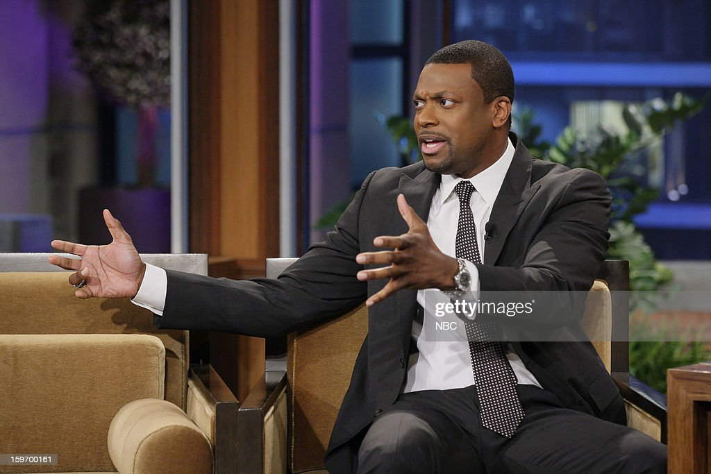 Chris Tucker during an interview on January 18, 2013 --