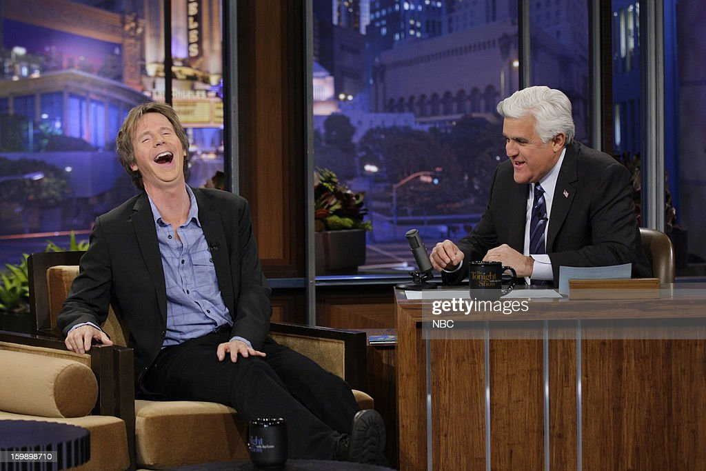 Actor/comedian Dana Carvey during an interview with host Jay Leno on January 22, 2013 --