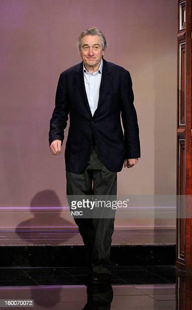 Actor Robert De Niro arrives on January 25 2013