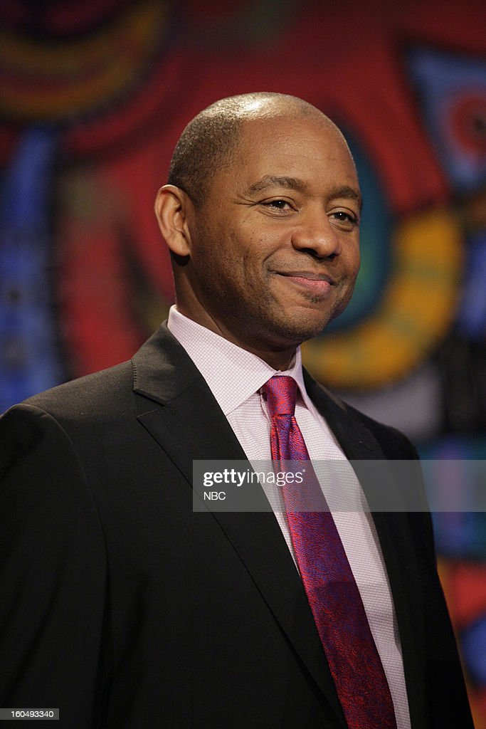 Musical guest Branford Marsalis onstage February 1, 2013 --