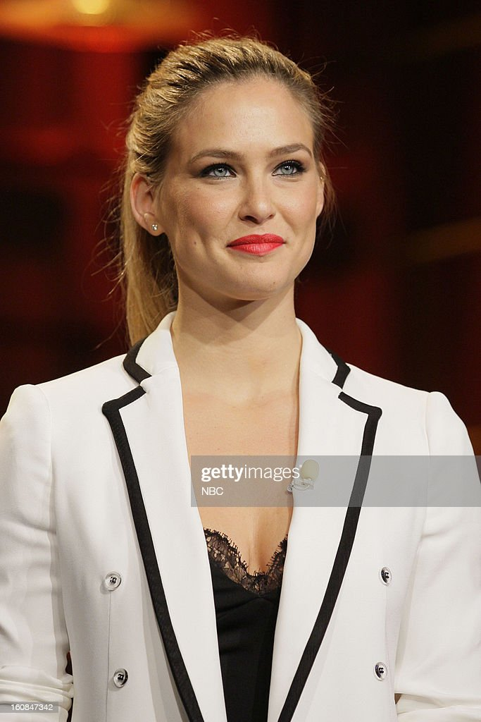 Supermodel Bar Refaeli on February 6, 2013 --