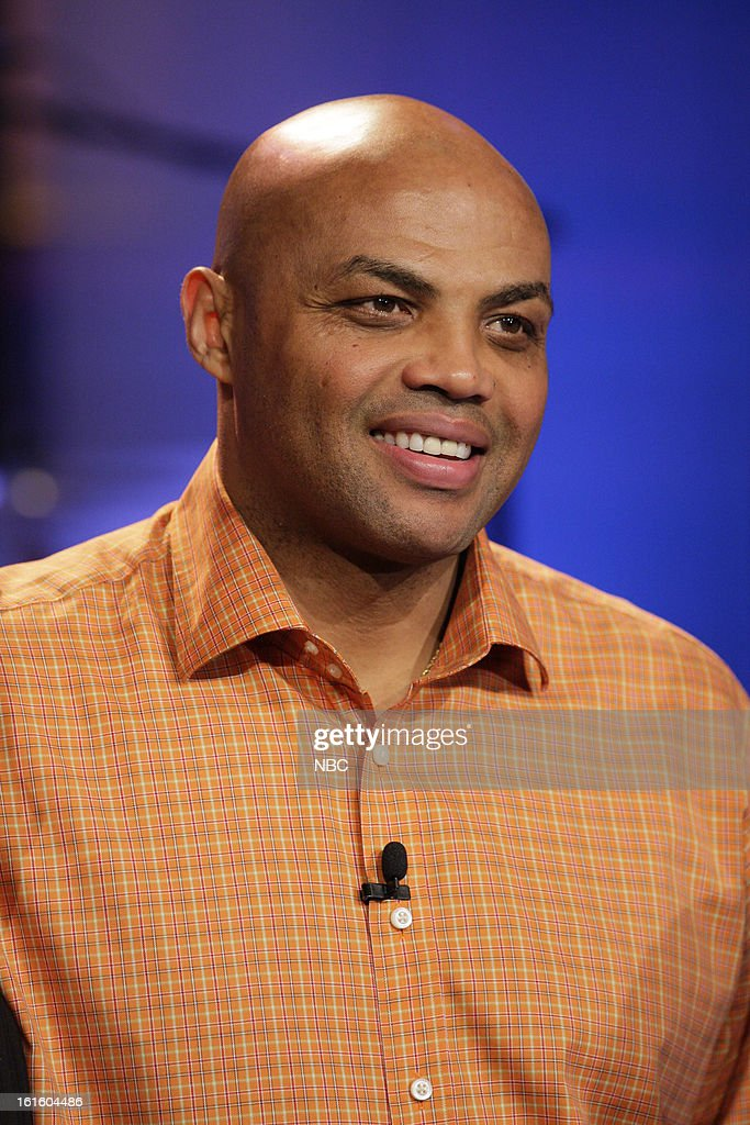 Former basketball player <a gi-track='captionPersonalityLinkClicked' href=/galleries/search?phrase=Charles+Barkley&family=editorial&specificpeople=202484 ng-click='$event.stopPropagation()'>Charles Barkley</a> on February 12, 2013 --