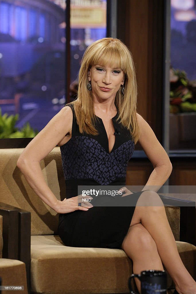 Comedian <a gi-track='captionPersonalityLinkClicked' href=/galleries/search?phrase=Kathy+Griffin&family=editorial&specificpeople=203161 ng-click='$event.stopPropagation()'>Kathy Griffin</a> during an interview on February 15, 2013 --